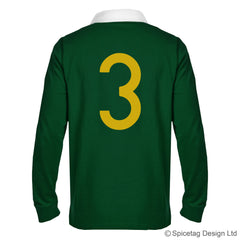 Retro South Africa Numbers Jersey