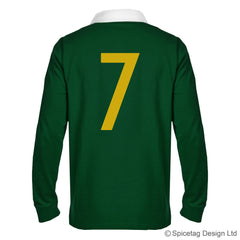 Retro South Africa Crest Numbers Jersey