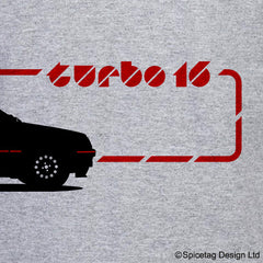 205 T16 Road Car T-shirt
