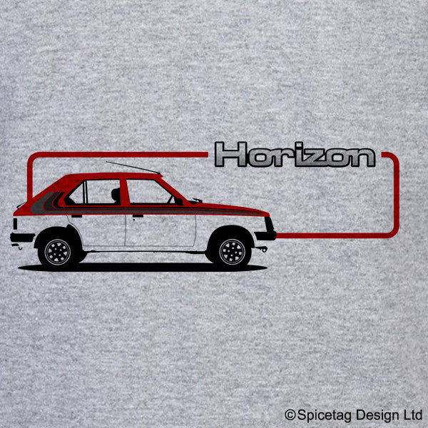 Talbot Horizon Car T-shirt