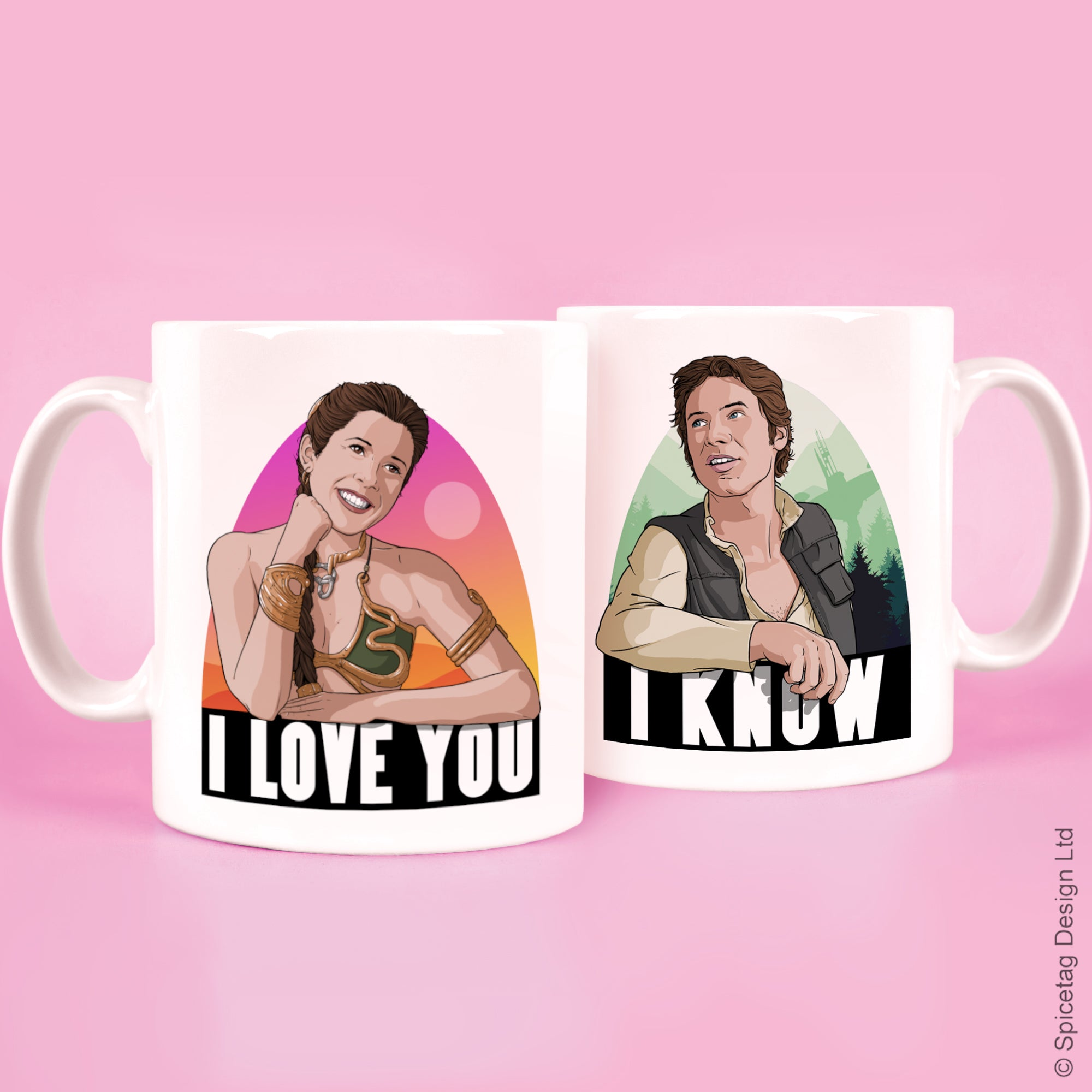 I Love You, I Know Mug