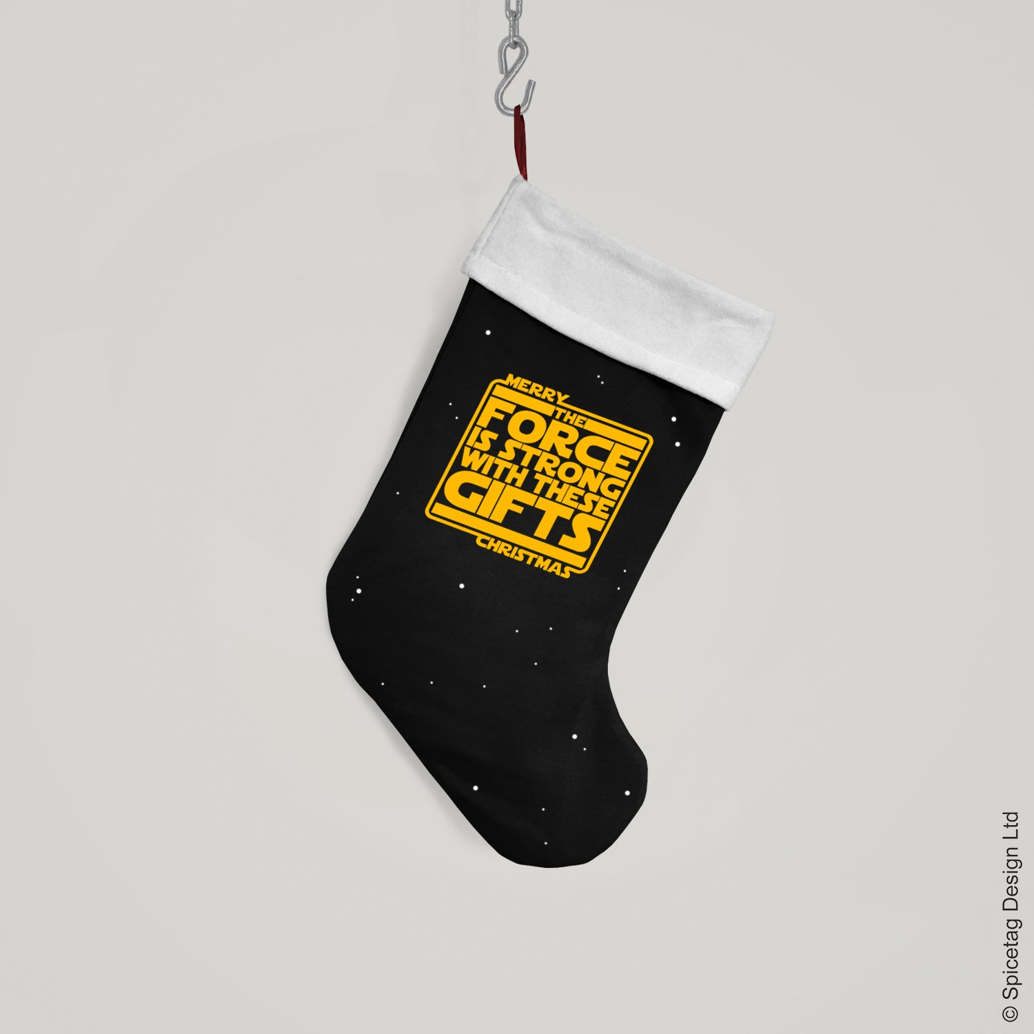 The Force Christmas Stocking