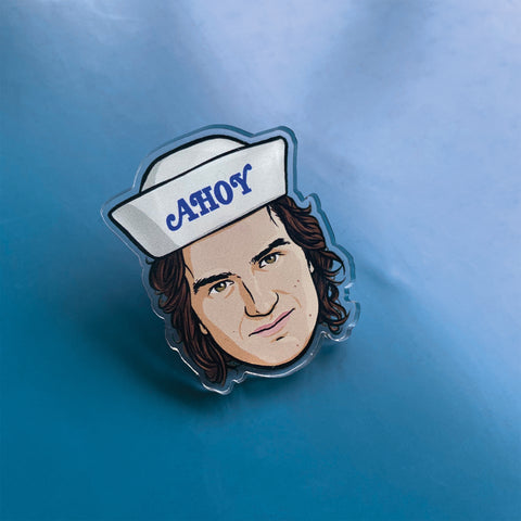 Steve Pin Badge