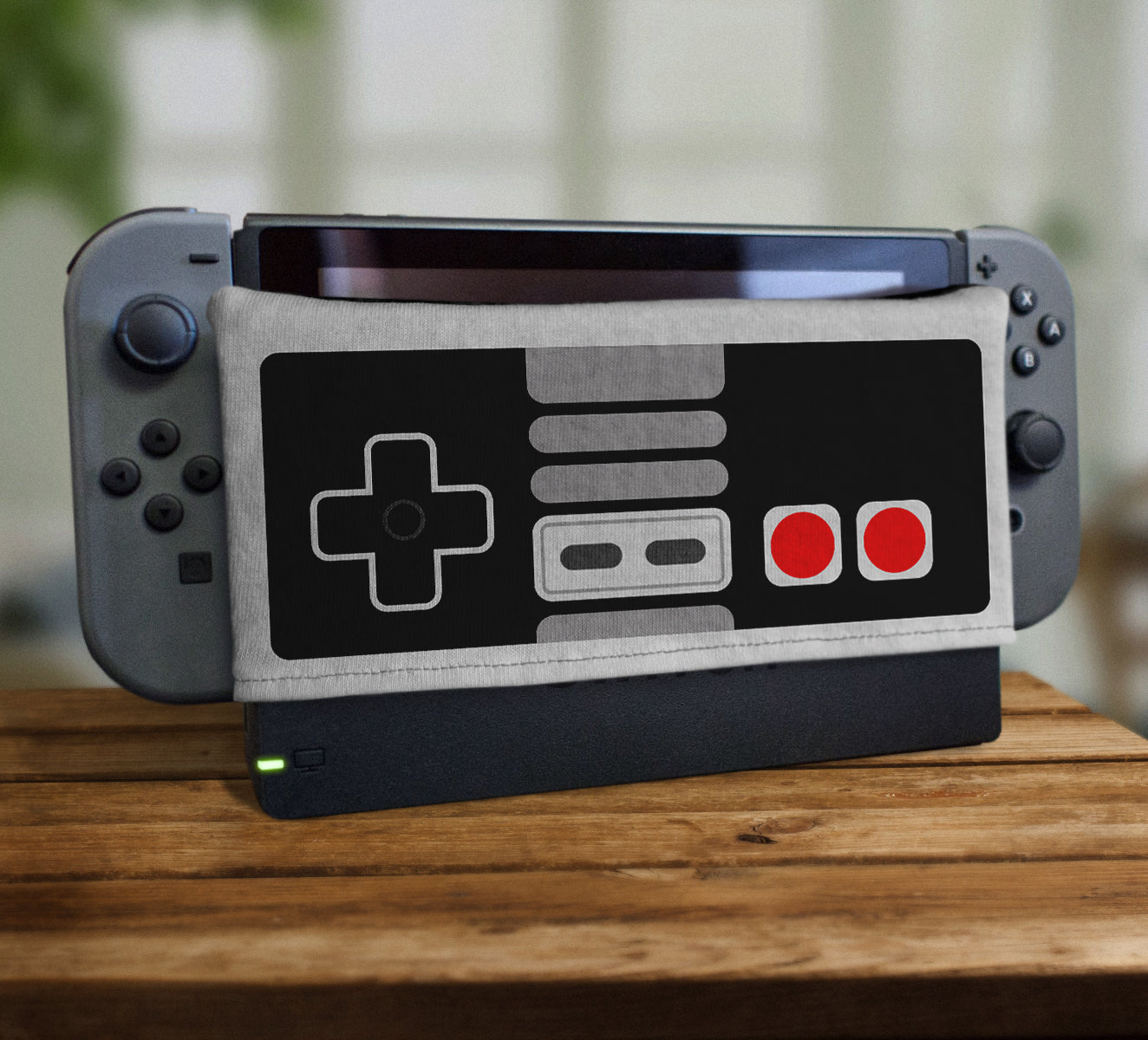 Switch nes controller nintendo 80s 1980s retrogaming gaming gamer game retro console mario bros dock sock screen protector spicetag
