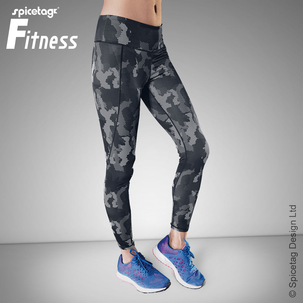 Women's performance Hexoflage™ leggings