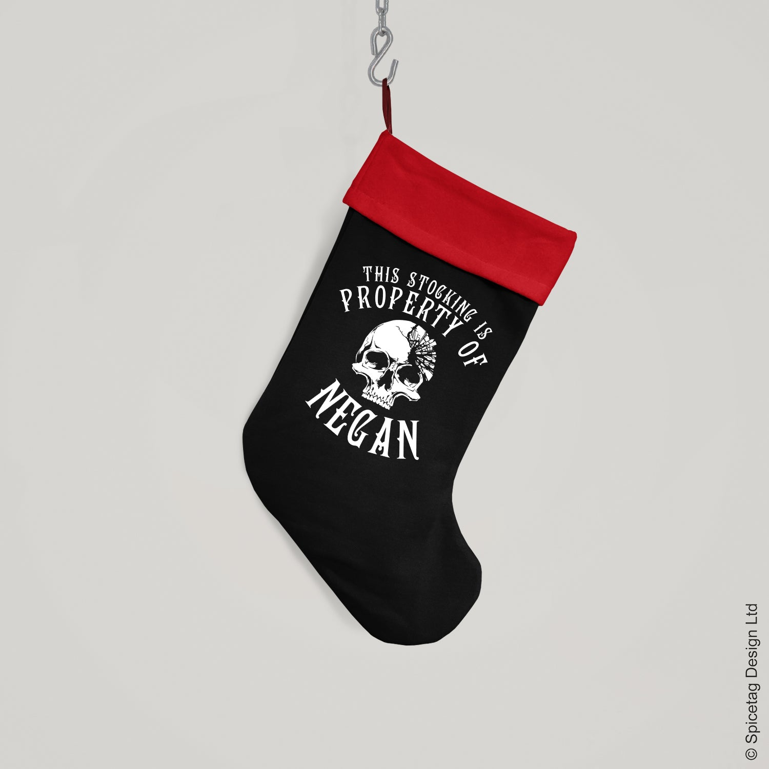 Negan Christmas Stocking