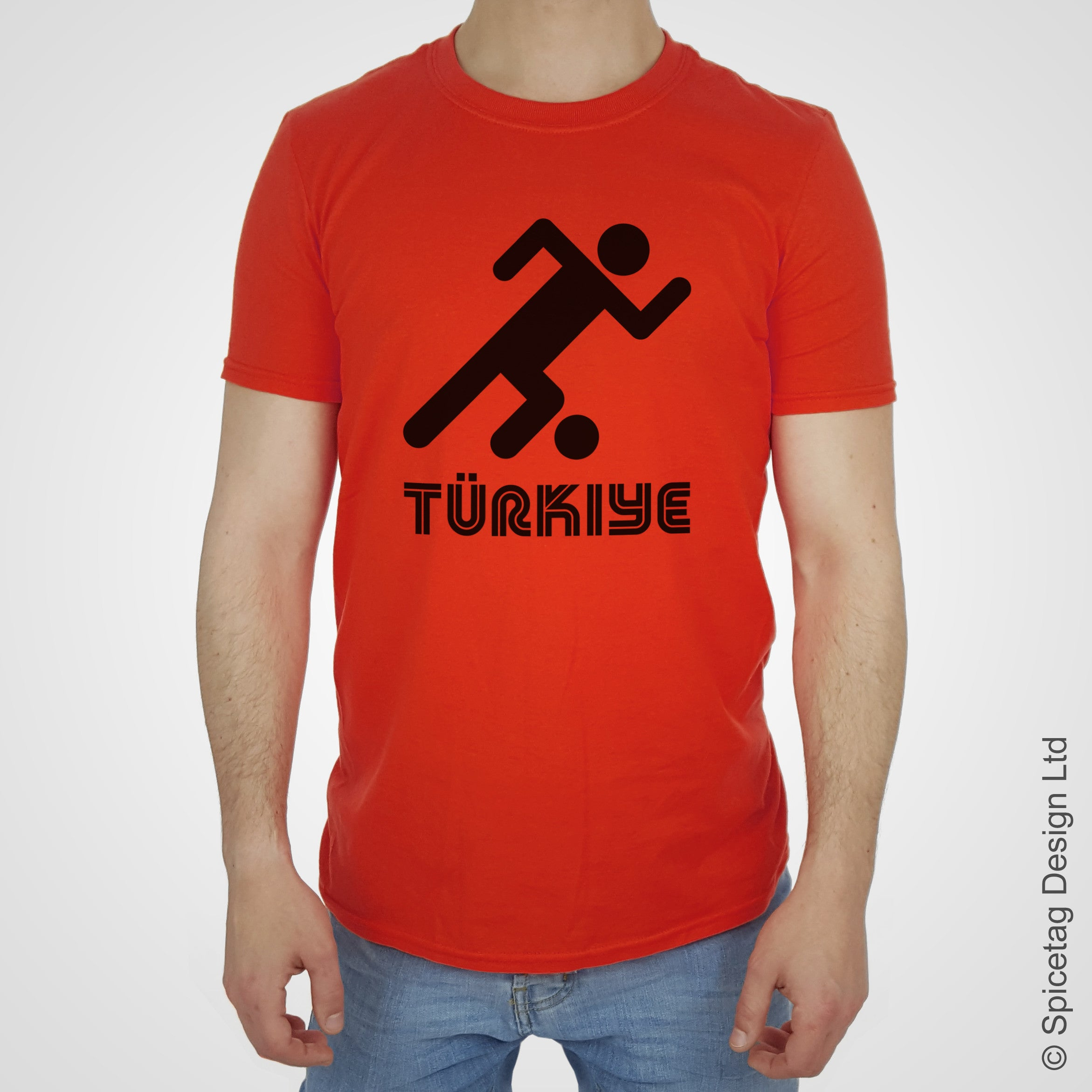 Turkey Retro Football T-shirt