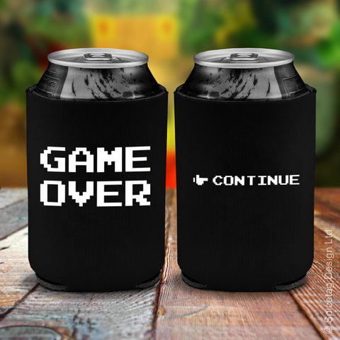 GAME OVER Beer Koozie