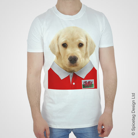 Labrador Wales Rugby T-shirt