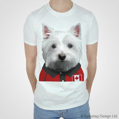 Canada Test Rugby Westie T-shirt