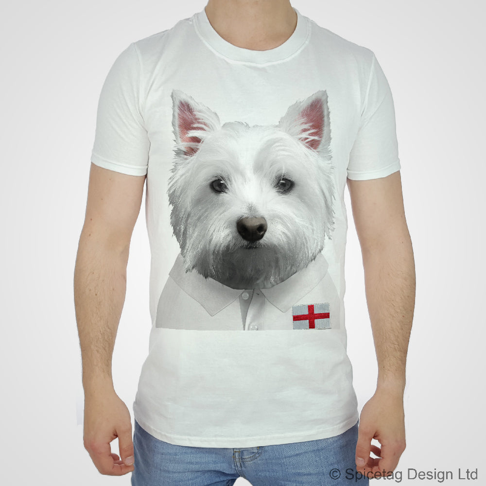 England Rugby Westie T-shirt