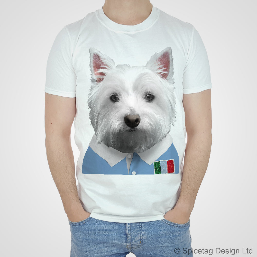 Italy Rugby Westie T-shirt