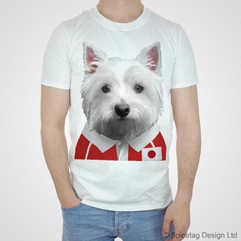 Japan Rugby Westie T-shirt