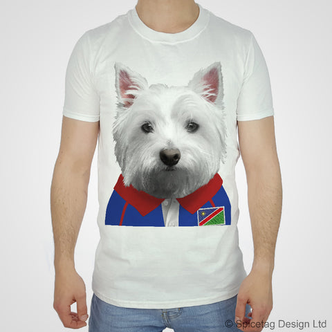 Namibia Rugby Westie T-shirt