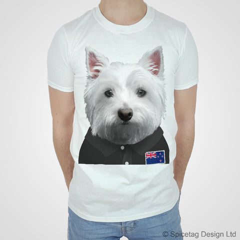 New Zealand Rugby Westie T-shirt