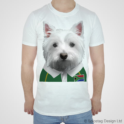 South Africa Rugby Westie T-shirt