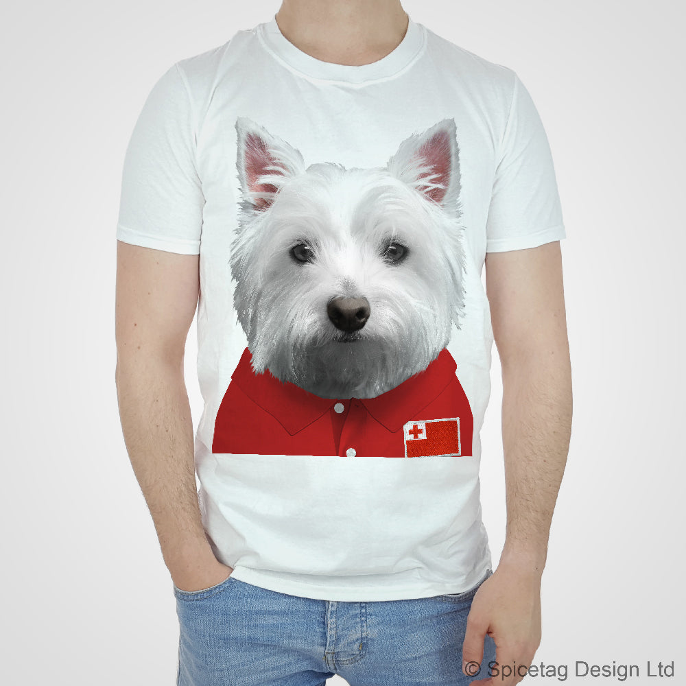 Tonga Rugby Westie T-shirt