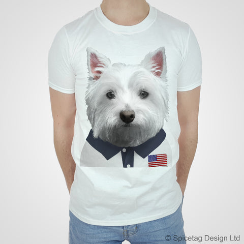 USA Rugby Westie T-shirt