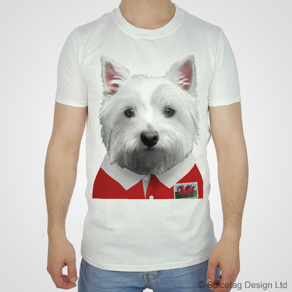 Wales Rugby Westie T-shirt