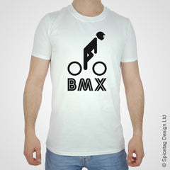 BMX Stick Man T-shirt