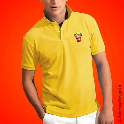 French Fries Polo Shirt