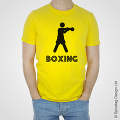 Colours boxing boxer box fight fightingT-shirt Tshirt T shirt Tee clothing clothes fashion style sport sports fan olympics