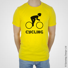 Cycling bike ride T-shirt Tshirt T shirt Tee clothing clothes fashion style sport sports fan olympics athletics track field health fitness world competition champion