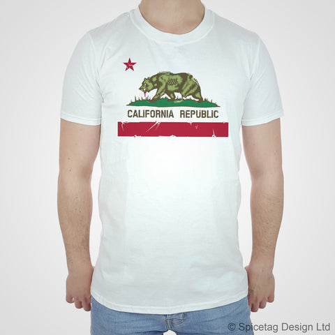 California Republic Zombie T-shirt