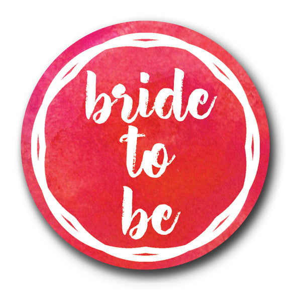 Bride To Be Red Hen Do Badge