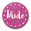 Bride Pink Cerise Glow Badge