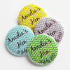 Personalised Chevron Hen Do Badges