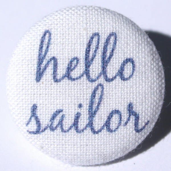 Hello Sailor Marine Blue