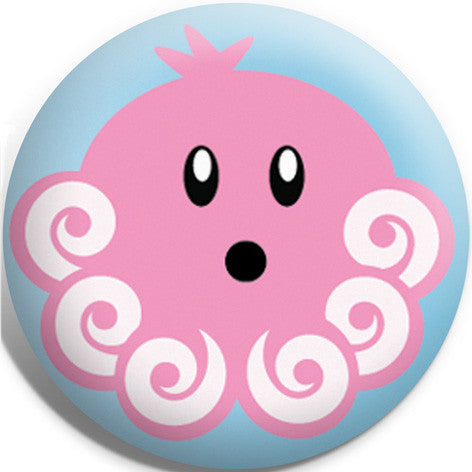 Oscar Octopus Button Badge