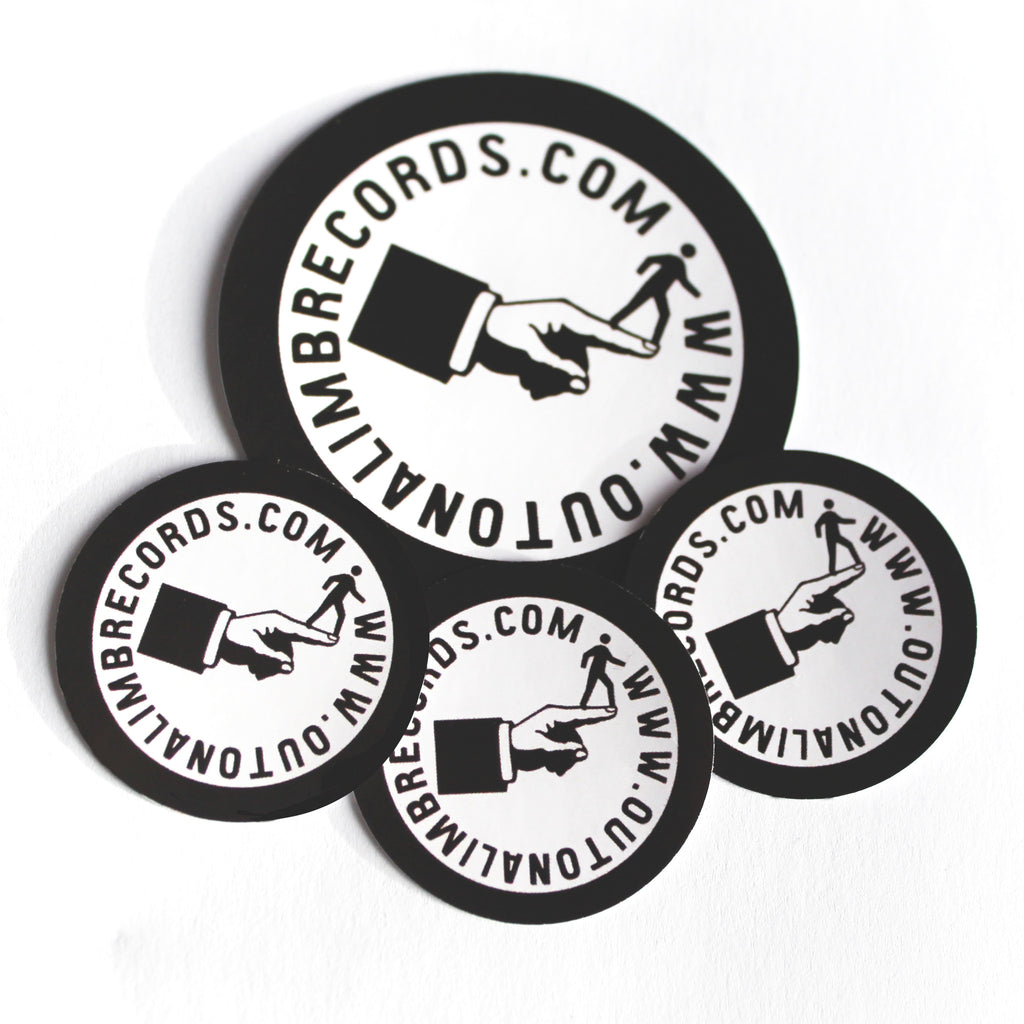 35mm Circle Vinyl Stickers