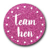 Team Hen Cerise Glow Hen Do Design