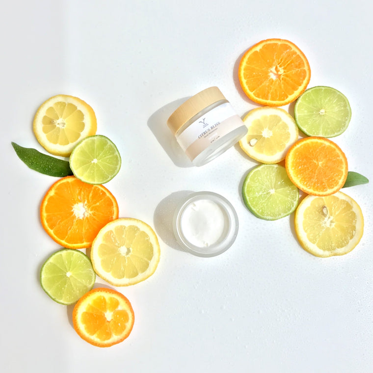 """Citrus Bliss"" Vegan Facial Moisturizer"