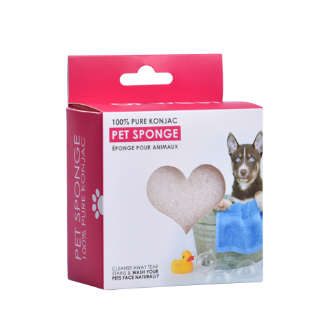 100% PURE KONJAC PET SPONGE <br>