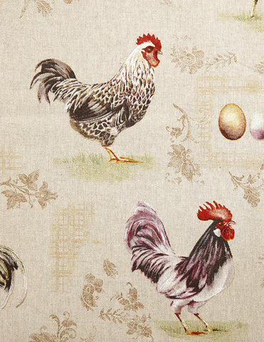 Fabric French Hens