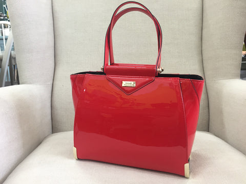 Serenade Beverly Hills Collection Handbag Red