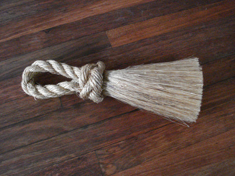 SAILORS WHISK BRUSH great for sandy toe cleaning or clearing crumbs from the table