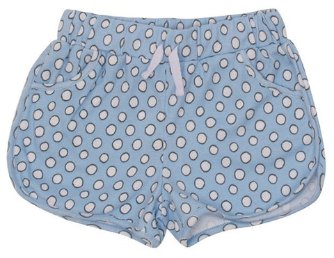 Light Blue White Dots
