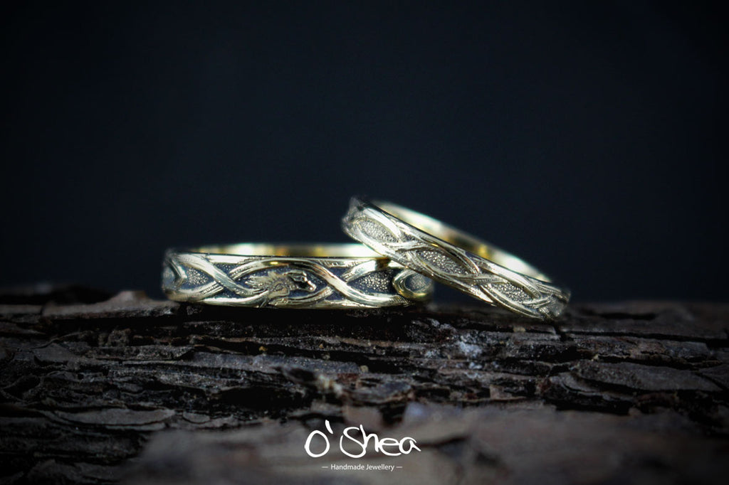 handmade celtic rings