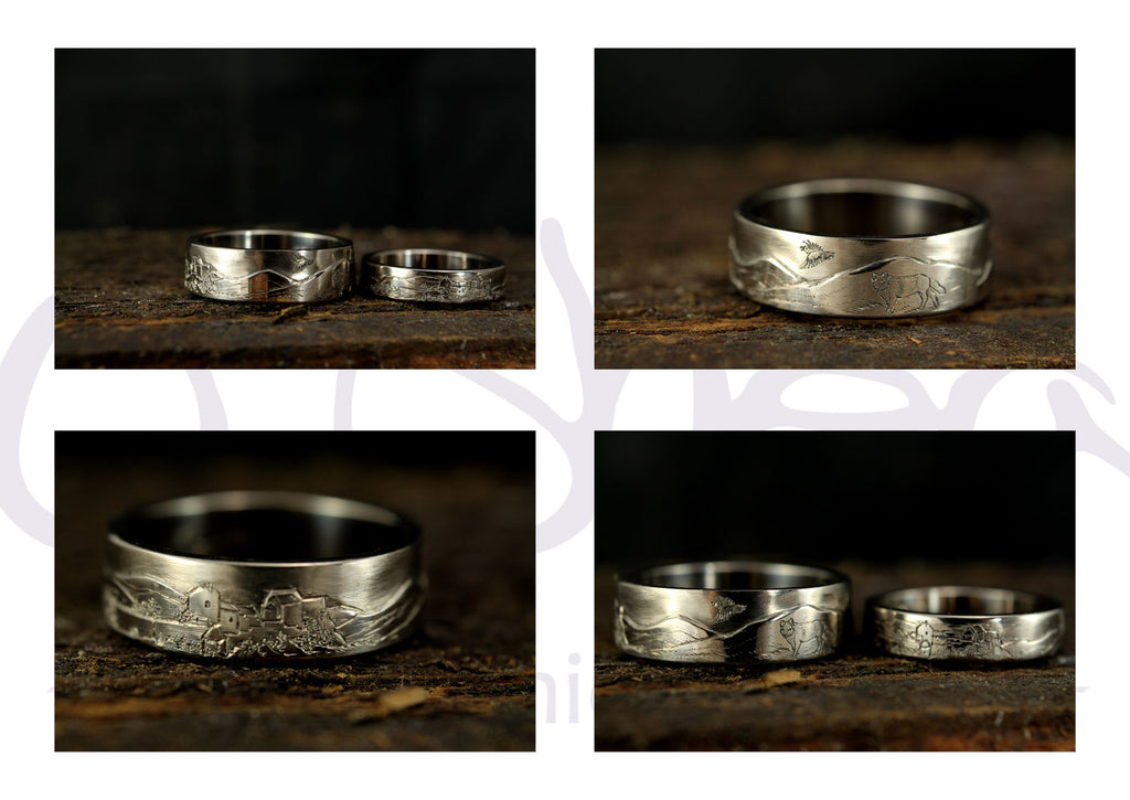 wold wedding rings