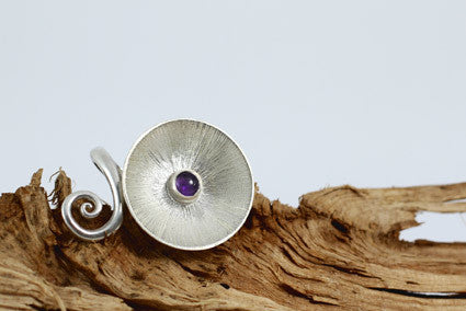 amethyst ring adjustable size