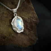 Melted Moonstone Pendant