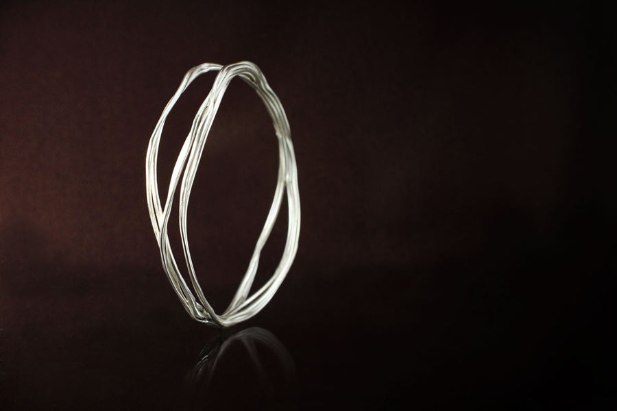 Bangle . 925 Sterling Silver