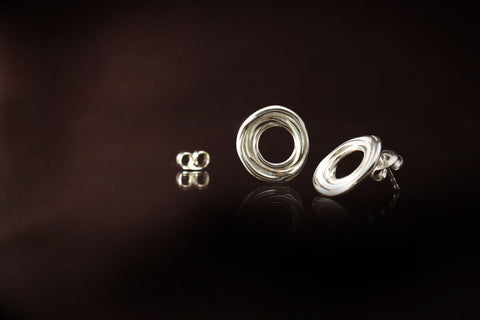 Stud Earring .925 Sterling