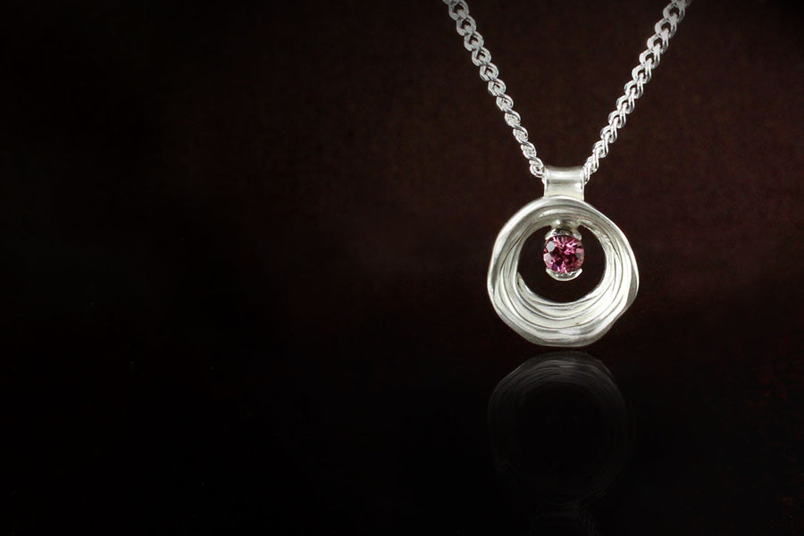 Tourmaline Pendant 925 Silver - www.joshoshea.com | Handmade Jewellery Gold and Silver