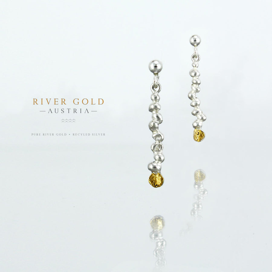 RIVER GOLD EARRINGS