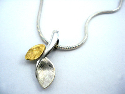branch and leaf pendant